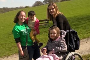 Volunteer inspired to help families