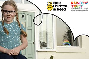 Rainbow Trust features in Life in Lockdown: a special film for BBC Children in Need