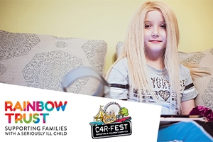 CarFest returns in 2021 with a new addition and a new Rainbow Trust representative