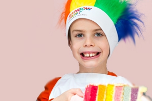 Colourful fundraising ideas