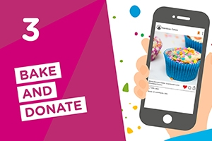 Simply bake and donate