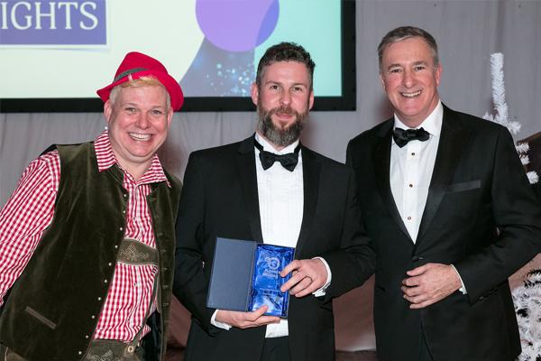 Cubitt & West dad wins Fundraising Champion Award