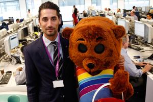 Hugo Taylor Becomes Ambassador for Rainbow Trust