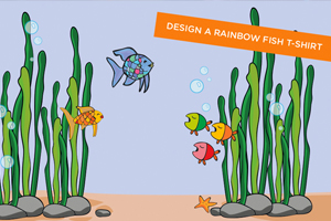 The Rainbow Fish Design a T-Shirt Competition