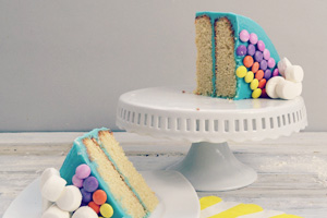 Rainbow unicorn cake kit