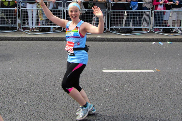 Rosie's marathon success