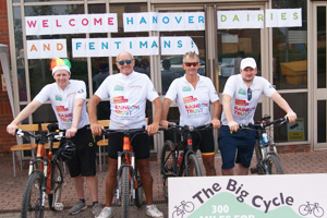 The Big Cycle raises an impressive £43,000