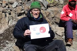 Andy climbs Kilimanjaro