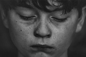 How do we help children open up to grief?