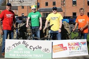 Hanover Dairies and Fentimans 300 mile bike ride