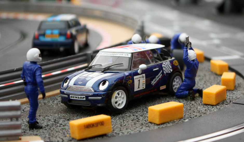 The Mini Challenge at Brands Hatch