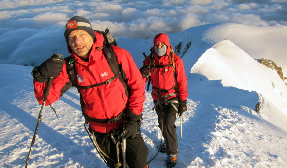 Nomura climbs Mont Blanc for us!