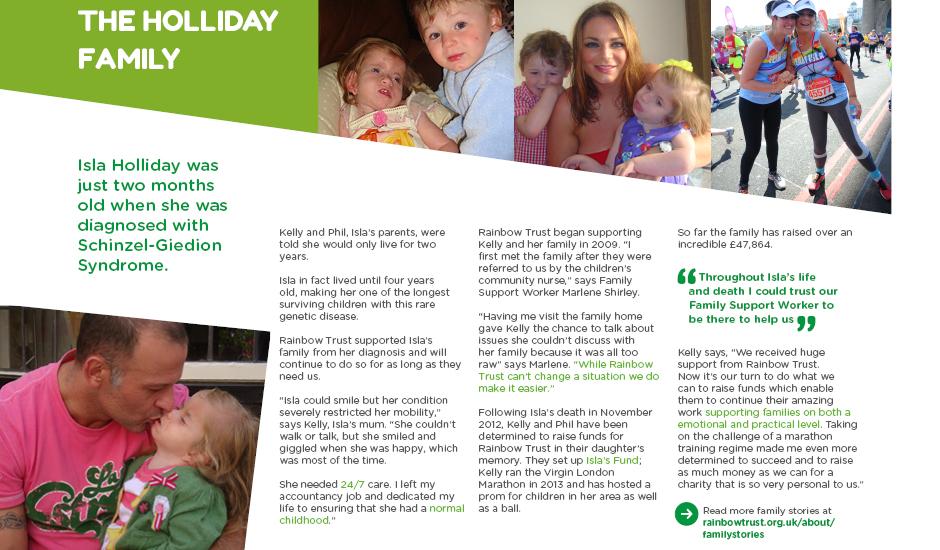 Inspiration pack | Rainbow Trust Children's Charity