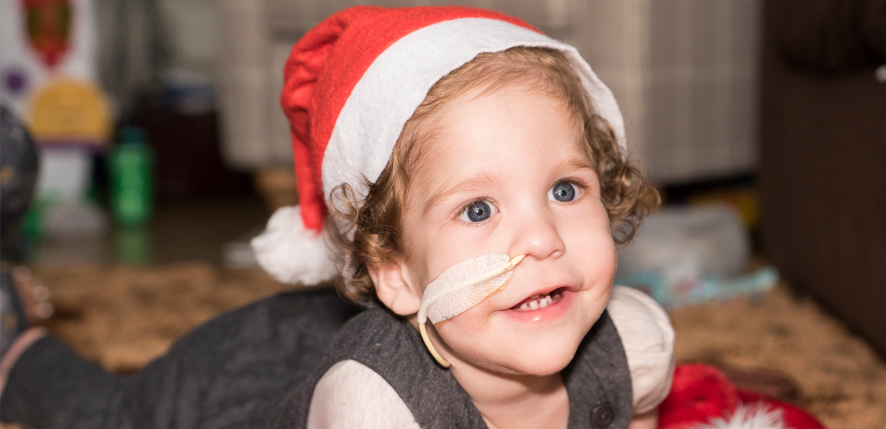 Help us give more families a happy Christmas together at home