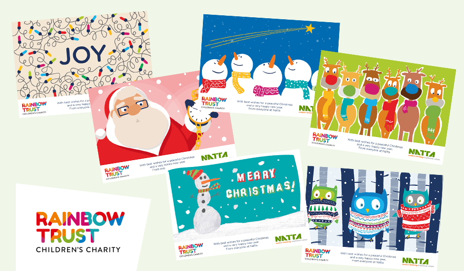 Corporate ecards rainbow trust childrens charity send your clients a festive seasons greeting with a rainbow trust ecard our ecards are a fantastic way to wish your business contacts a wonderful festive reheart Choice Image