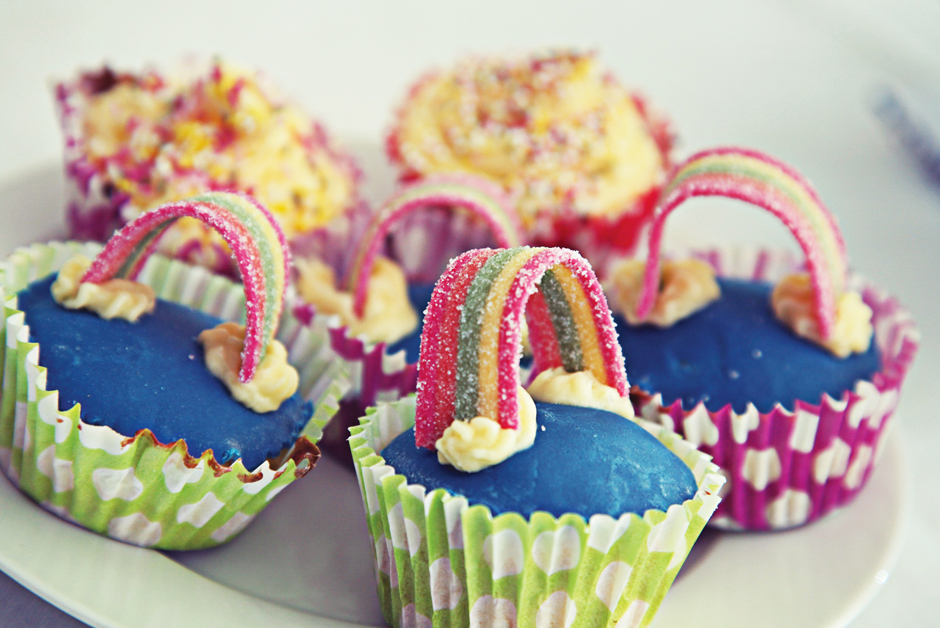 Little Big Hour Cup Cakes   Rainbow Trust Children's Charity