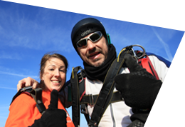 Meet Liz as she shares her skydiving experience