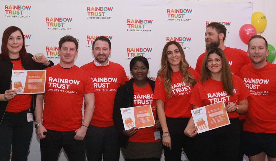 Our experience in partnership with Rainbow Trust
