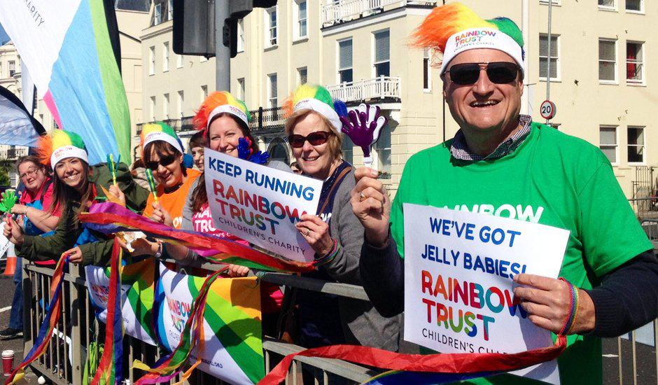 Join team Rainbow Trust