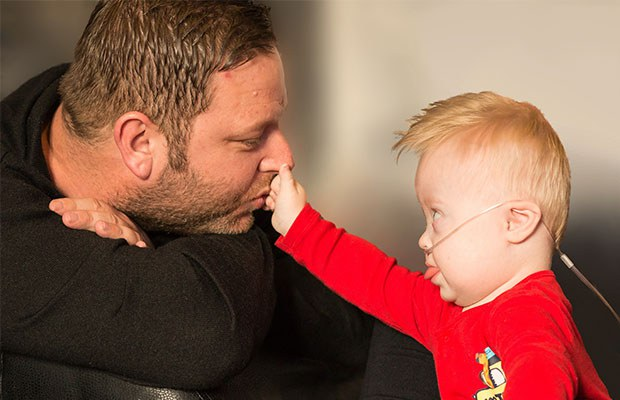 Your donations support children like Jenson and his family