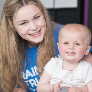 We launched 'A Day with Amelia' to sponsor a Family Support Worker
