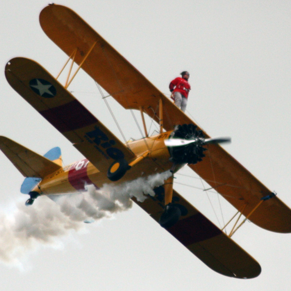 Do a wing walk