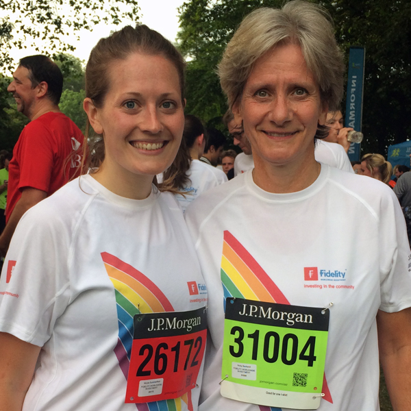 Fidelity runs for Rainbow Trust