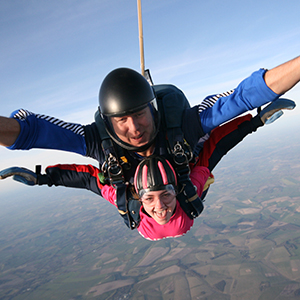 Skydive for us
