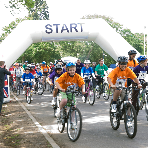 Take part in a bike ride