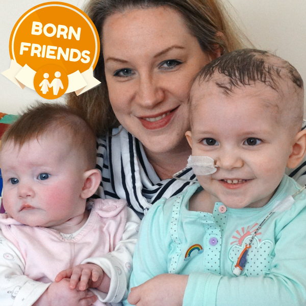 Our new awareness campaign, Born Friends highlights the needs of siblings