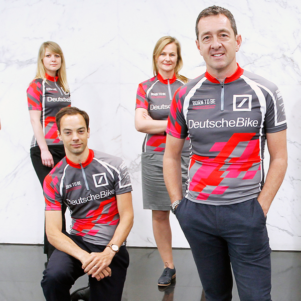 Deutsche Bank do DeutscheBike for us