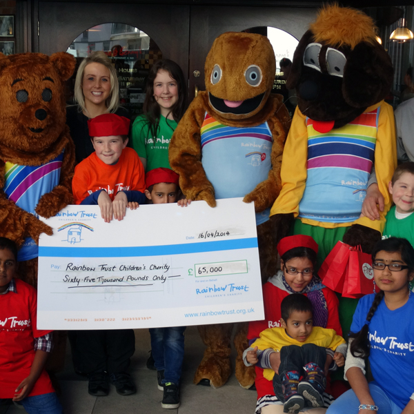 Frankie and Benny's across the land raise £65,000