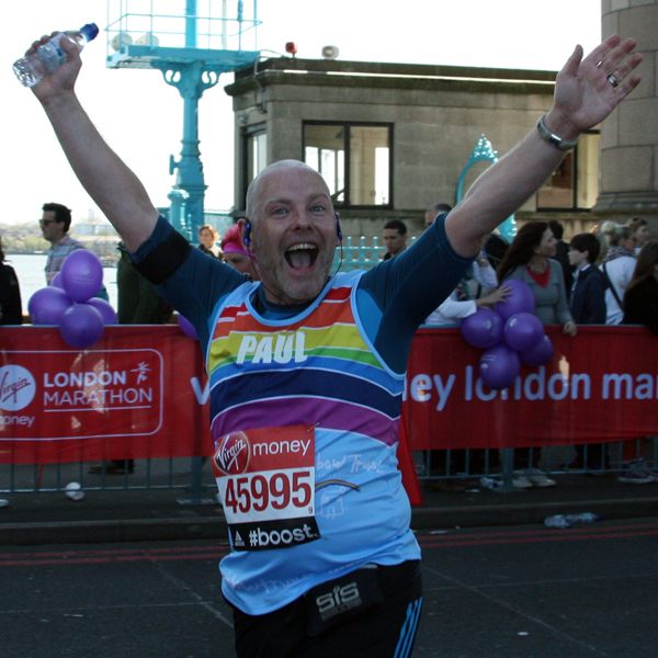 Extraordinary supporters ran the London Marathon