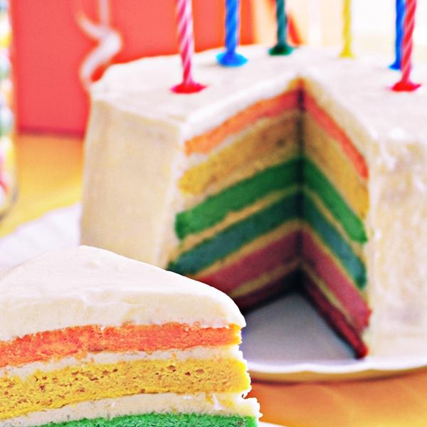 John Scott's Rainbow Cake