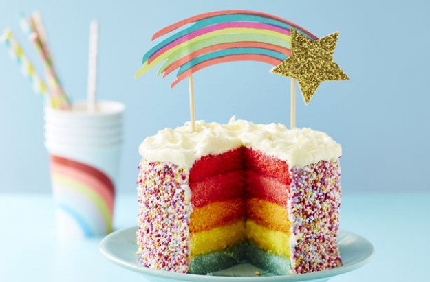 Rainbow baking recipes