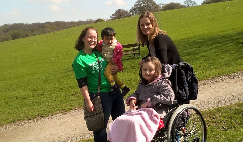 Brentwood volunteer inspired to help families with seriously ill children supported by Rainbow Trust