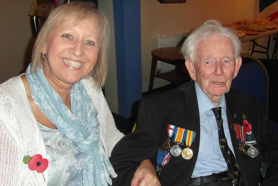 Albert Bennett, Burma Star - RAF 155 Spitfire Squadron and long term supporter turns 100