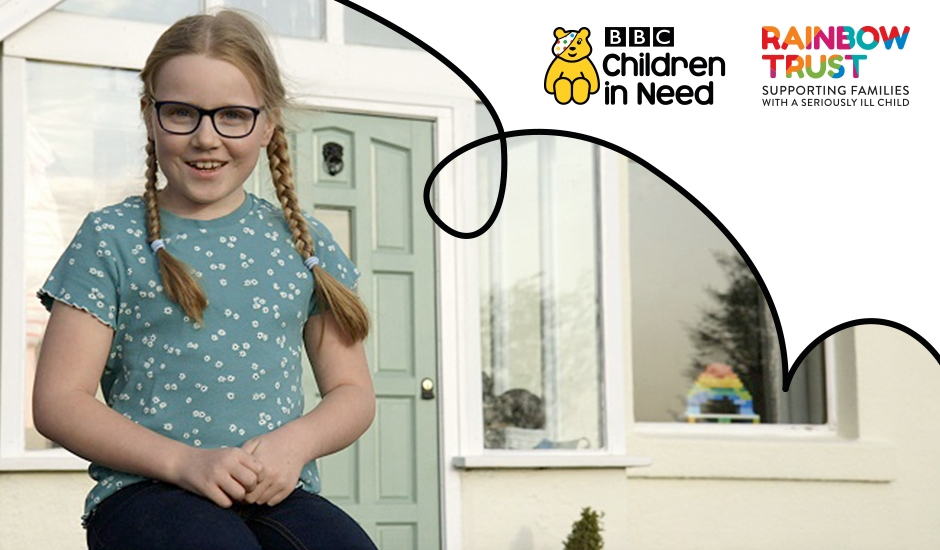 Rainbow Trust to feature in Life in Lockdown: a special film for BBC Children in Need narrated by Emma Willis