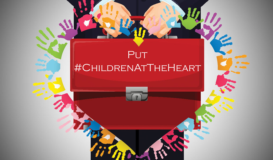 More than 100 charities urge Chancellor to put #ChildrenAtTheHeart of spending