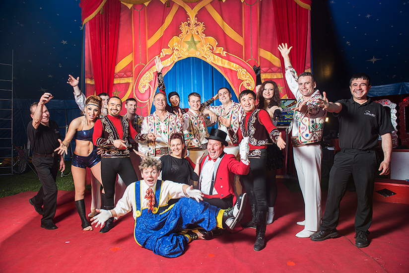 Circus Starr supports Rainbow Trust