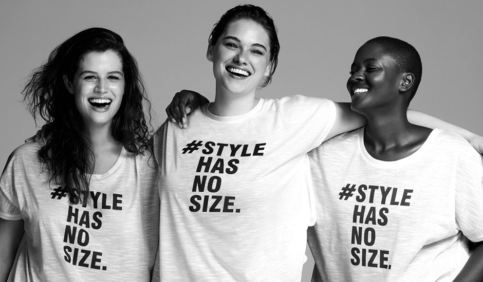 Evans launch style has no size campaign with Rainbow Trust