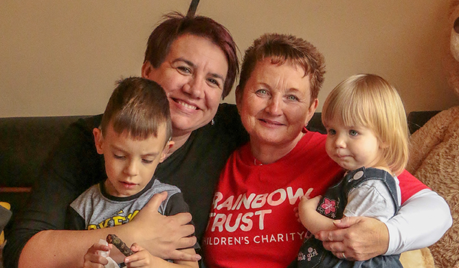 Giving Fabian's family time to manage cancer together