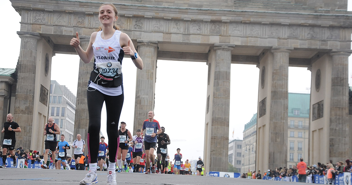 Florrie completes the World Marathon Majors to raise an awesome £2608