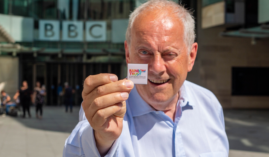 Gyles Brandreth fronts our appeal on BBC Radio 4