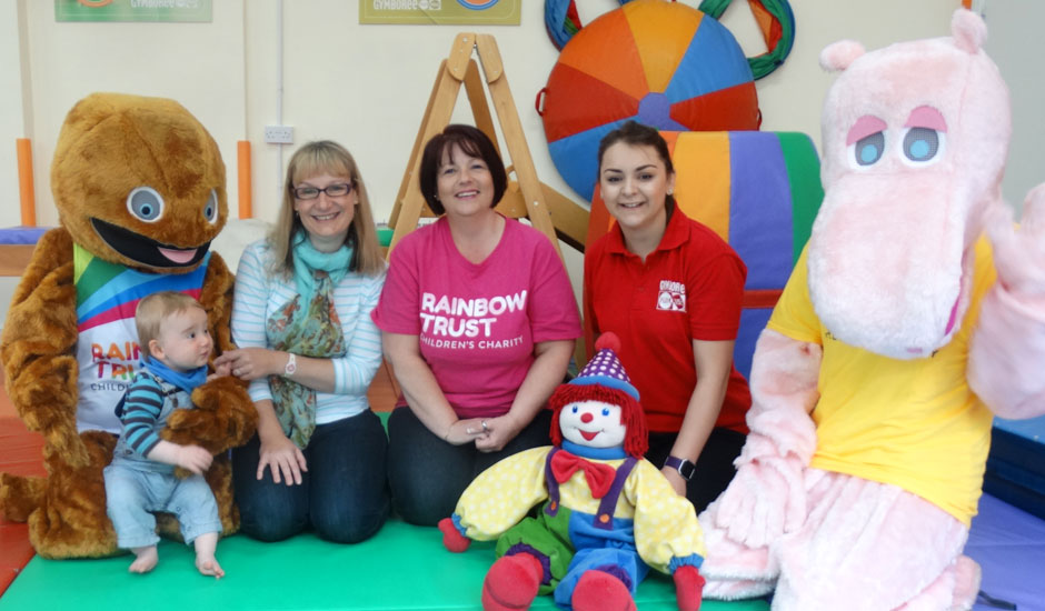 Surbiton mum launches Gymboree charity partnership