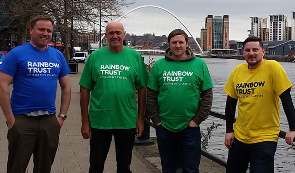 Hanover Dairies to walk 169 miles in aid of Rainbow Trust