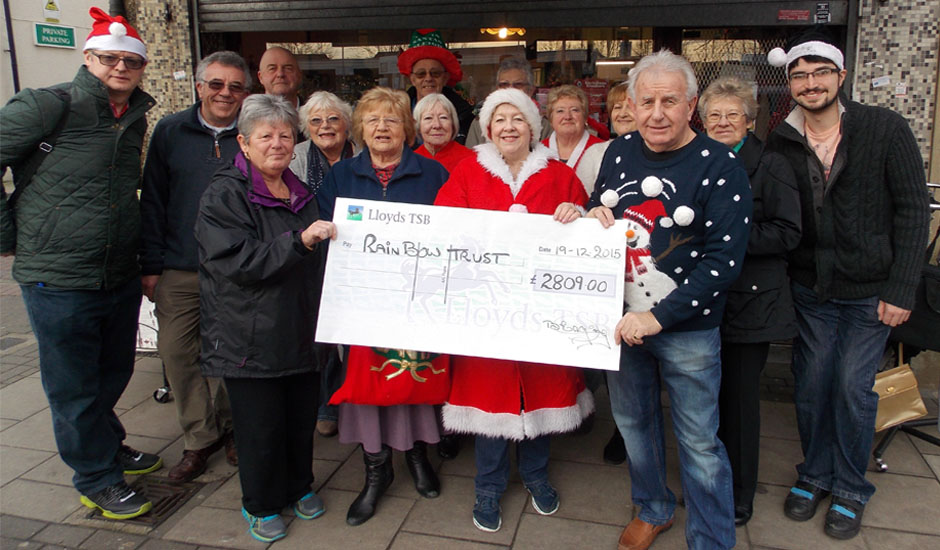 Harold Wood Fundraising Group raises £9,800!
