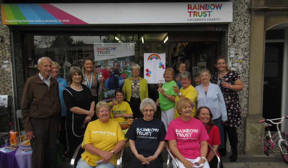 Harold Wood volunteers hit £1 million target