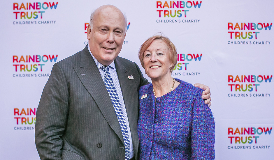Lord Julian Fellowes hosts Rainbow Trust Children's Charity's 30th Anniversary party