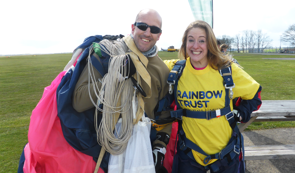 'Jump With Us' weekend raises over £4,500